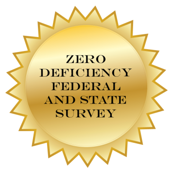 Fairmont Rehabilitation Hospital Earns a Zero Deficiency Survey
